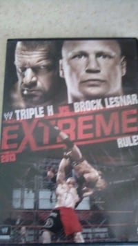 Wwe .. ...DVD..watch once, free with purchase