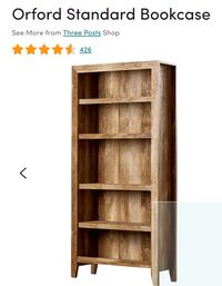Orford standard bookcase (from wayfair) Charlottesville, 22903