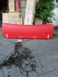 red and black plastic container Los Angeles, 91405