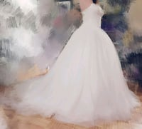 NEVER WEAR wedding gown Mississauga, L4X 2J2