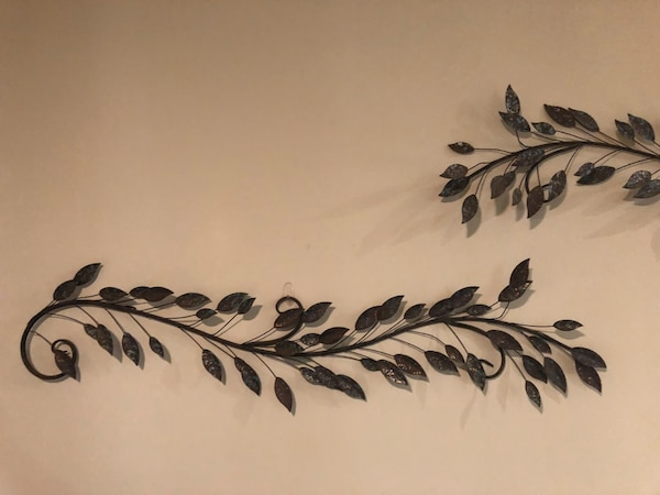 96c69e40d8989 Used Wall decor leafs 2 for sale in Atlanta - letgo