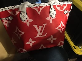 Louis Vuitton summer of 2019 giant monogram Red & Pink