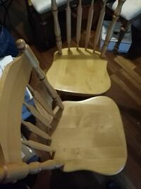 brown wooden windsor rocking chair Falls Church, 22043
