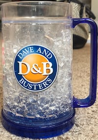 Dave and Busters Double Wall Gel Freezer Mug  690 mi