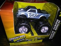 black and gray Adventure Wheels monster truck toy pack Vancouver, V5T