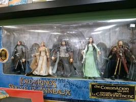 LORD OF THE RINGS action figures 2005 BRAND NEW $75