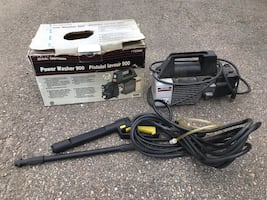 Power washer 900 psi
