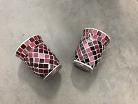 Two round burgundy Vases  Fort Mill, 29708