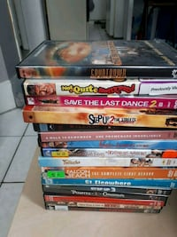 pile of assorted DVD cases London, N5W 2Z4