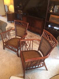 2 rattan chairs Bella Vista, 72715