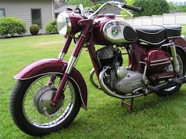 1956 Austrian Puch 250SGS Concours Condition