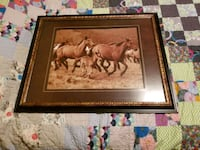 Large framed horse art West Saint Paul, 55118