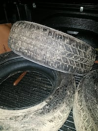 4 215/60/r16 m&s tires 85% tred