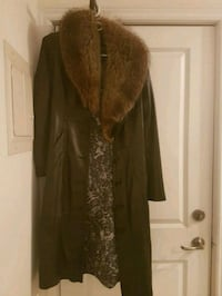 Women's italian leather coat Toronto, M8W 3G7