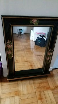 Wooden, hand painted mirror Toronto, M3L 1A9