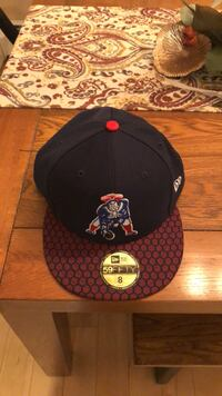 Black and red fitted cap Scarborough, 04074