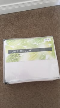 Twin Jersey pure beech sheet set -brand new London, N5X 4N2