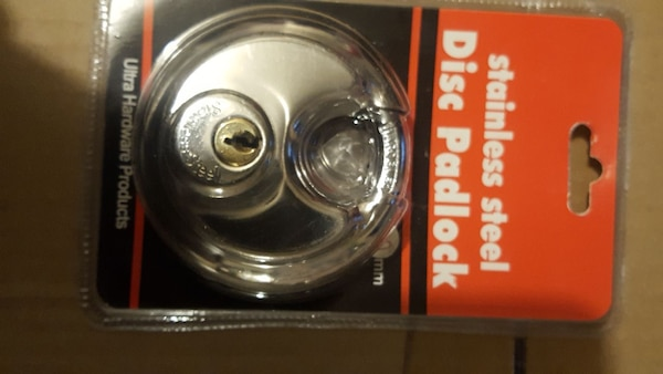STAINLESS STEEL DISC LOCK 70MM