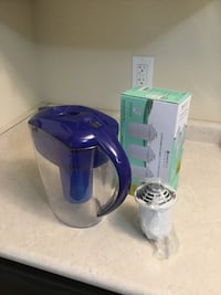 Santevia water jug and filters removes 93% lead from tap water