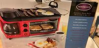 3 in 1 toaster oven, griddle and coffee maker East Setauket, 11733