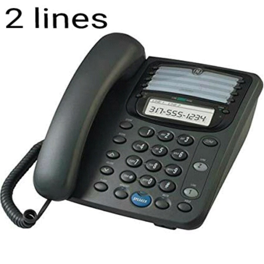 New 2 lines corded phone. GE.