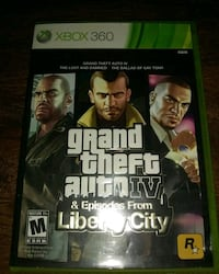 Grand theft auto 4 and liberty city bundle Baltimore, 21209