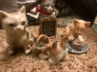 Kitty figurines