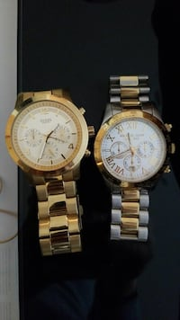 Guess and Michael kors watch
