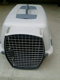 white and black pet carrier New York, 10009