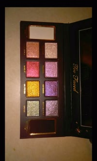 Authentic Too Faced Glitter Bomb Pallet Makeup
