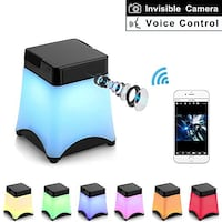 Spy Camera Mini Hidden Camera Night Light 1080P WiFi Nanny Cam with Motion Detective and Two Ways Communication Video Recorder Wireless Camera for Home Security 蘭卡斯特, 93535