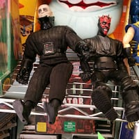 Star Wars dolls  Darth Vader & darth  maul $5 each Portsmouth, 23702
