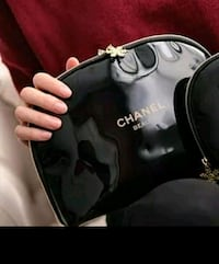 Channel make up bag