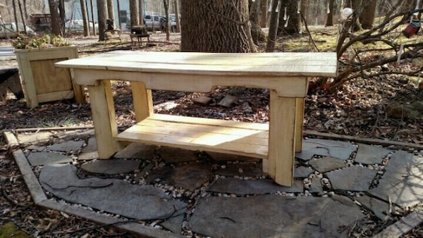 Rustic Coffee Table/Bench 7ba40042-2bcc-48e1-becf-0ce6cd62f1f0
