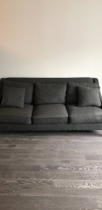 gray fabric 3-seat sofa New York, 10011