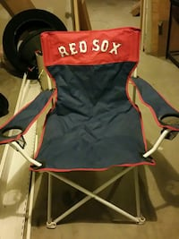 black and red Red Sox camping chair North Bergen, 07047