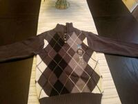 BRAND NEW: Size 5/6 Argyle Sweater  52 km