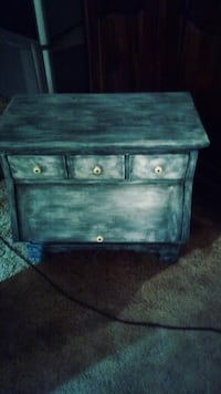brown wooden 2-drawer chest Los Banos
