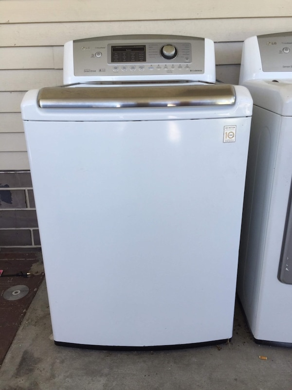 Lg washer and dryer barely used