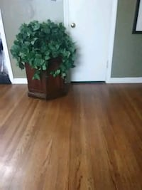 End table with plants nice setup for any setting Wichita, 67208