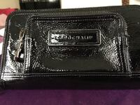 LONGCHAMP black leather wallet Revere, 02151