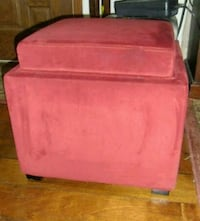 OTTOMAN WITH STORAGE AND TABLE TOP