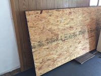 8 sheets New plywood 1/2 inch Pittston, 18640