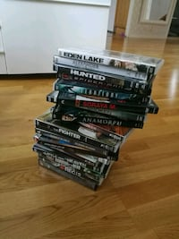 assorted-title DVD case lot Tumba, 147 41
