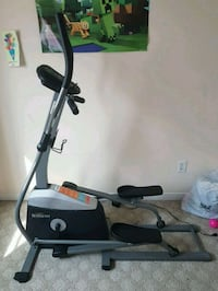 black and gray elliptical trainer Mississauga, L5M 3Y4