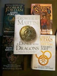 """Wheel of Time/ASOIAF """"Game of Thrones"""" Oslo, 0587"""