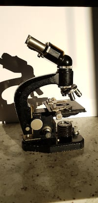 Beautiful Binocular Microscope from 1953 Tomball