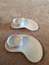 white ceramic plates with cups Calgary, T3M