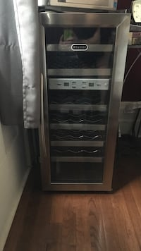 Stainless steel wine cooler New York