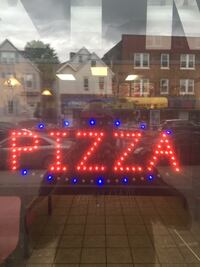 LED PIZZA SIGN [LIKE NEW] very affordable $35.00 New Brunswick, 08901